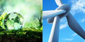 turbines producing sustainable energy