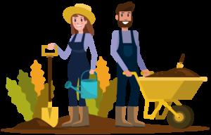couple of gardeners